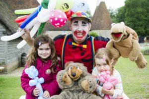 Flip the Clown at Kent Life