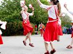 Morris dancers at Kent Life
