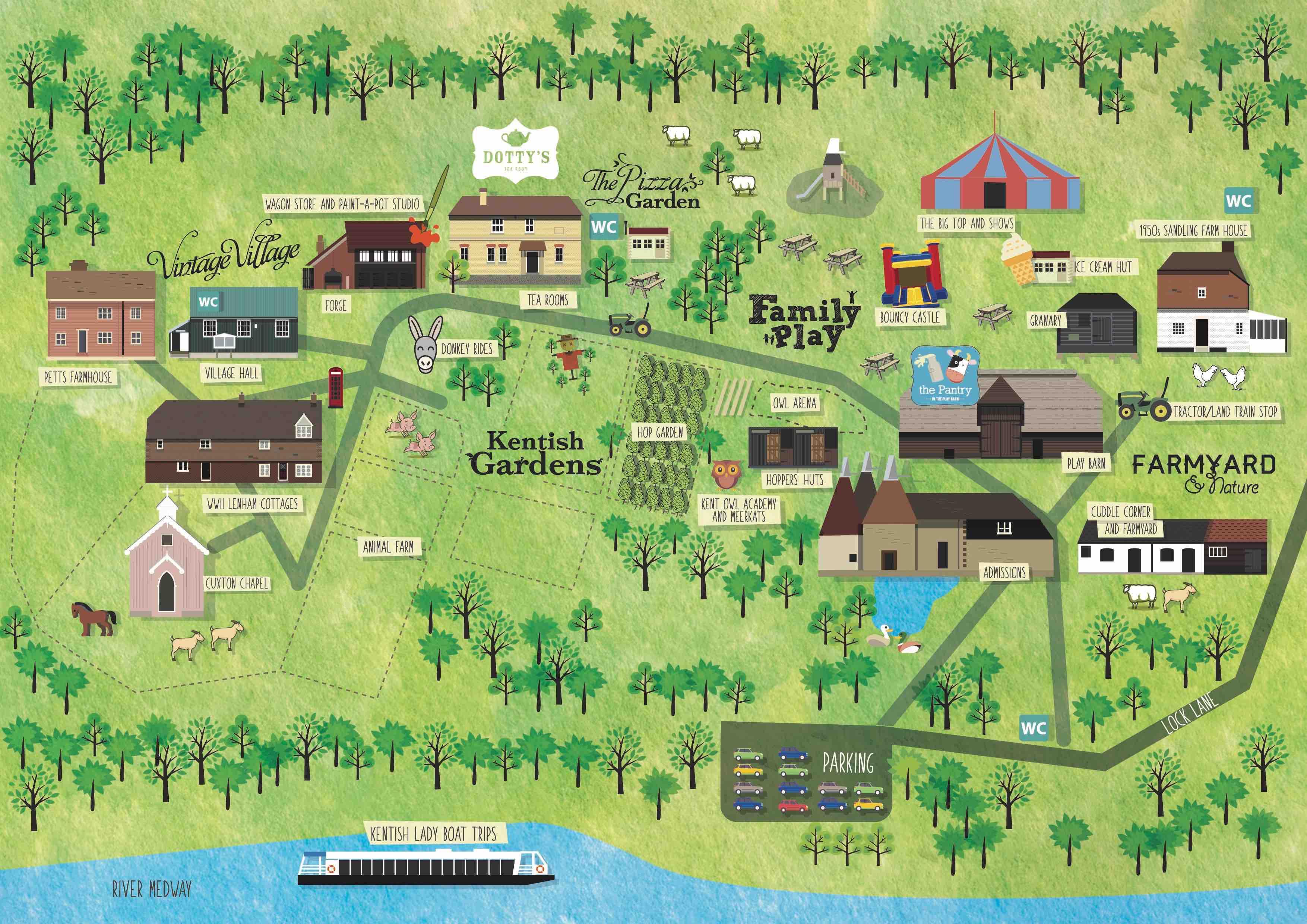 kent-life-park-map